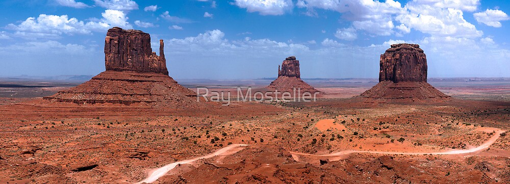 Three Peaks by Ray Mosteller