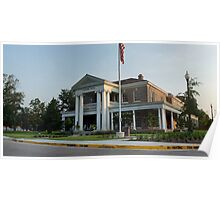 Panorama: Ogletree House at University of Southern Miss Poster
