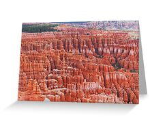 Carved by Nature Greeting Card