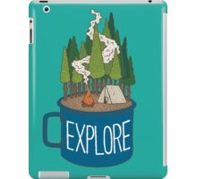 Camp Cup Explore iPad Case/Skin