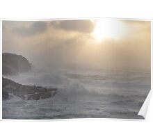 Stormy weather in November Poster