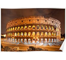 del Colosseo Poster