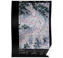 USGS Topo Map Washington State WA Goode Mountain 20110427 TM Inverted Poster