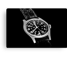 Military Time Canvas Print