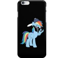 Rainbow Dash Style no text iPhone Case/Skin