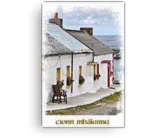 Malin Head Co Donegal Canvas Print