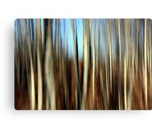 Autumn Lines Canvas Print