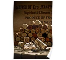 Old wine opener Poster