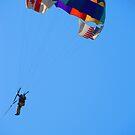 Up, up to the sky and over the bay - Arriba, arriba hasta el cielo y a través de la bahía, Puerto Vallarta, Mexico by PtoVallartaMex