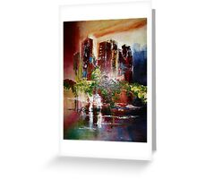 Rising Point of View Greeting Card