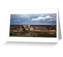 Laguna Pueblo Greeting Card