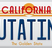 Back to the Future II Licence Plate Outatime by 0cdc