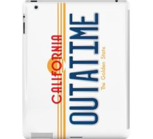 Back to the Future II Licence Plate Outatime iPad Case/Skin
