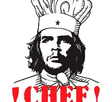 Chef Guevara by alee7spain