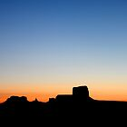 Sunrise Over Monument Valley by Ray Chiarello