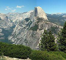 Yosemite View from Glacier Point by Ray Chiarello