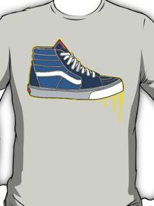 VANS SK8 H: NAVY BABY BLUE T-Shirt
