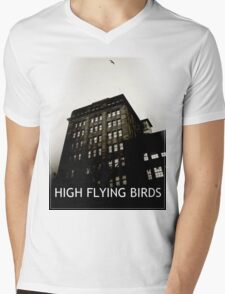 High Flying Birds Mens V-Neck T-Shirt