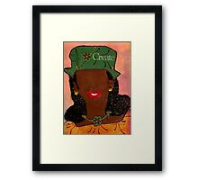 Passionate and Creative Framed Print