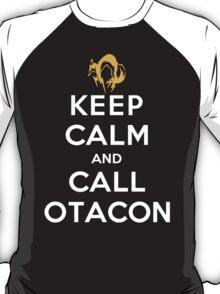 Keep Calm and Call Otacon T-Shirt
