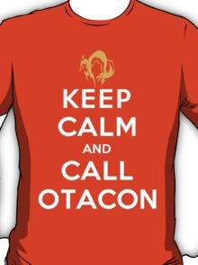 Keep Calm and Call Otacon T-Shirt