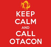 Keep Calm and Call Otacon Unisex T-Shirt