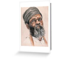 Rasta Elder Greeting Card