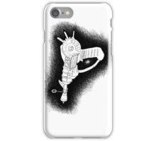 Sketchy Ray gun iPhone Case/Skin