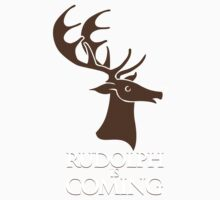 Rudolph is coming Kids Clothes