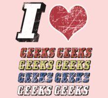 I love Geeks Baby Tee