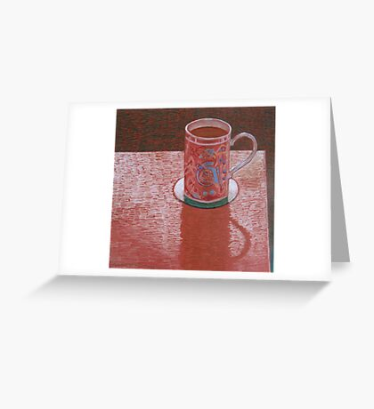 """Favorite cup"" Greeting Card"