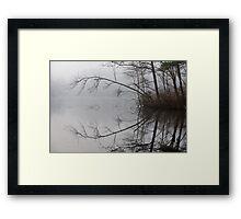 Misty Reflection Framed Print