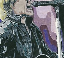 Jon Bon Jovi Canvas Painting A4 by chrisjh2210