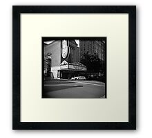 Putting on the Ritz (at the Schnitz) Framed Print