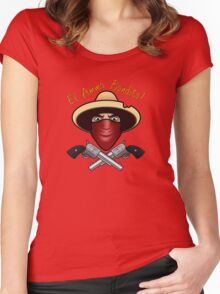 Bienvinedo El Ammo Bandito!!! Women's Fitted Scoop T-Shirt