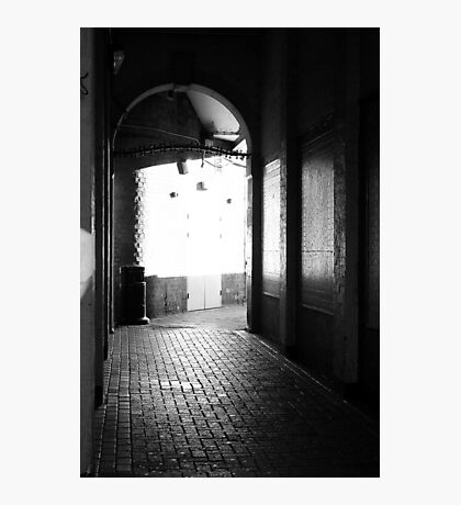 Town Hall Passage, Loughborough Photographic Print