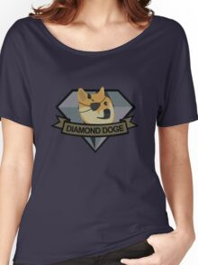 """Diamond Doge"" Women's Relaxed Fit T-Shirt"