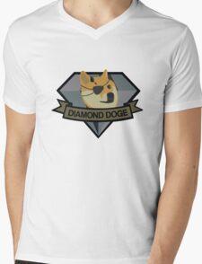 """Diamond Doge"" Mens V-Neck T-Shirt"