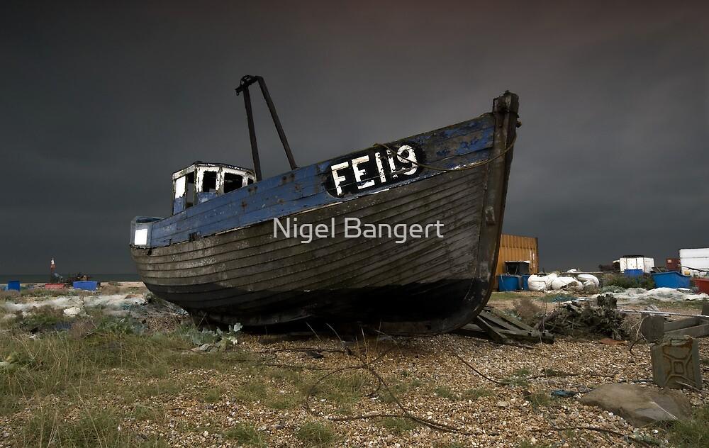 Dungeness Fishing Boat by Nigel Bangert