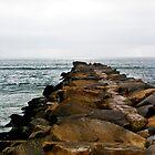 Oceanside Jetty by Donovan Olson