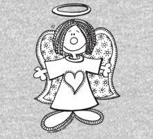 Hey Angel Baby! (t-shirt / sticker) Kids Clothes