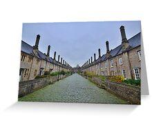 Somserset: Vicar's Close, Wells. Greeting Card