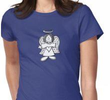 Little Hey Angel Baby! (t-shirt / sticker) Womens Fitted T-Shirt