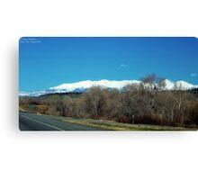 Highway over Bridger Creek (Bozeman, Montana) Canvas Print