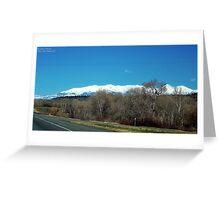 Highway over Bridger Creek (Bozeman, Montana) Greeting Card