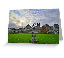 Somserset: Bath, Parade Gardens Greeting Card