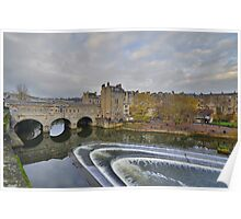 Somerset: Bath, Pulteney Bridge Poster