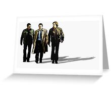 Dead Men Walking Greeting Card