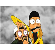 Jay and Silent Bob Photographic Print