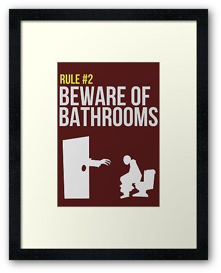 Zombie Survival Guide - Rule #2 - Beware of Bathrooms  by AlexNoir